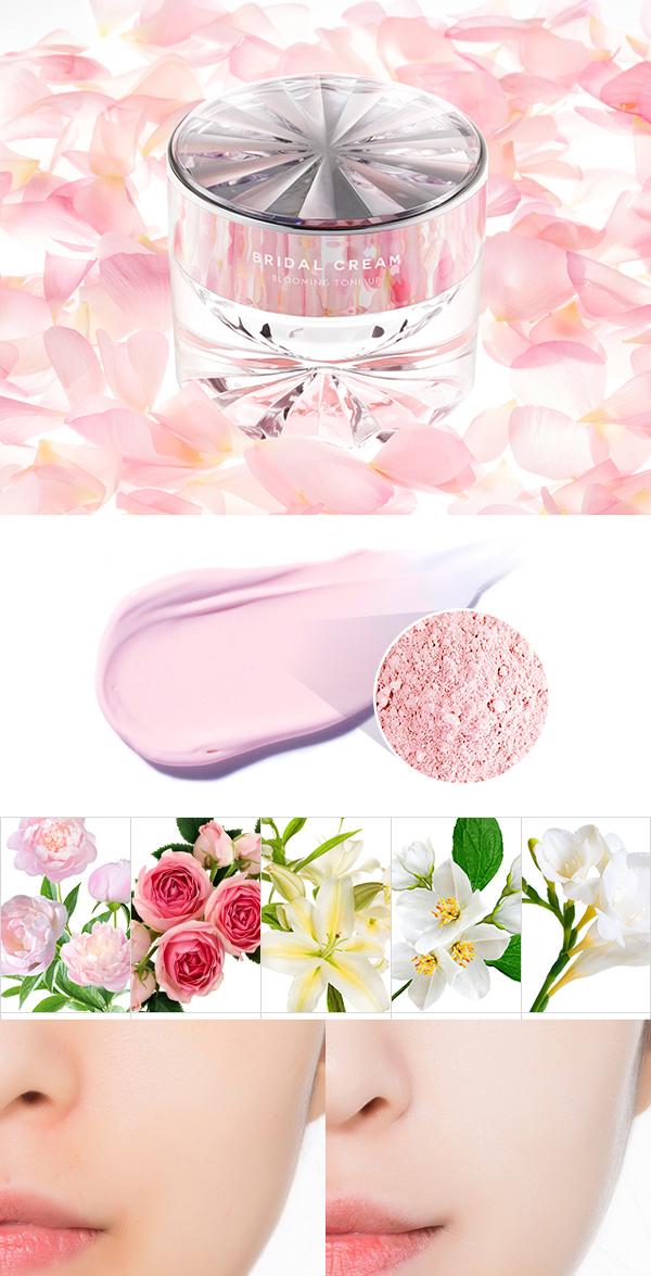 Znalezione obrazy dla zapytania Missha Time Revolution Bridal Cream (Blooming Tone Up