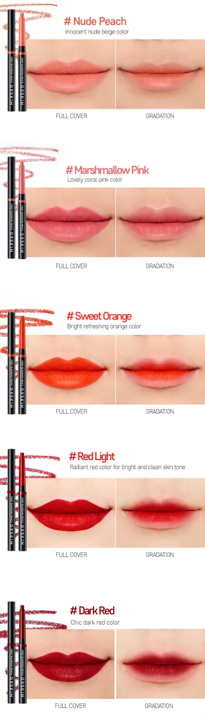 BERRISOM G9 SKIN Blending Lip Pencil