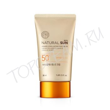 THE FACE SHOP Natural Sun Eco Power Long-Lasting Sun Cream SPF50+ PA+++