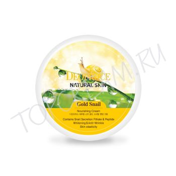 DEOPROCE Natural Skin Gold Snail Nourishing Cream