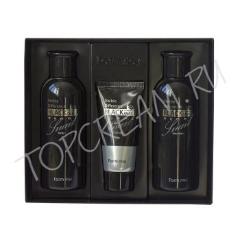 FARMSTAY Visible Difference Black Snail Homm 3 Set
