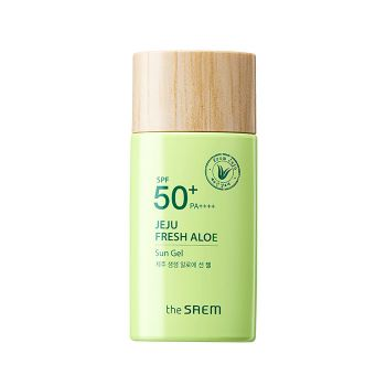 THE SAEM Jeju Fresh Aloe Sun Gel SPF50+ PA++++