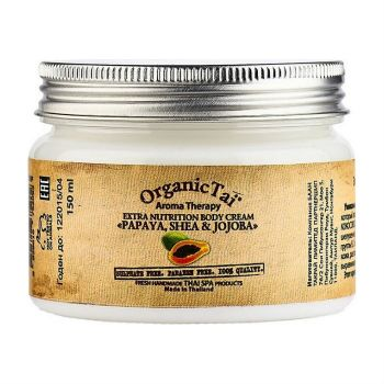 ORGANIC TAI Extra Nutrition Body Cream Papaya, Shea & Jojoba
