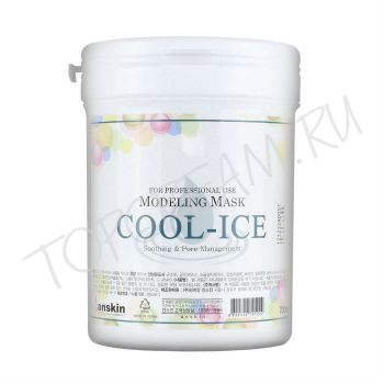 ANSKIN Modeling Mask Cool-Ice Soothing & Management