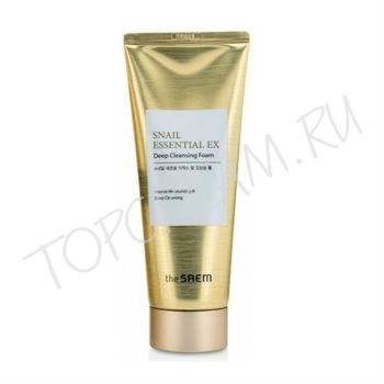 THE SAEM Snail Essential EX Wrinkle Deep Cleansing Foam