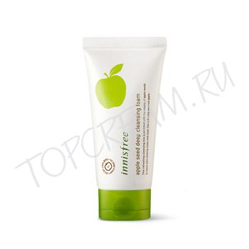 INNISFREE Apple Seed Deep Cleansing Foam - Очищающая пенка с экстрактом яблока - купить