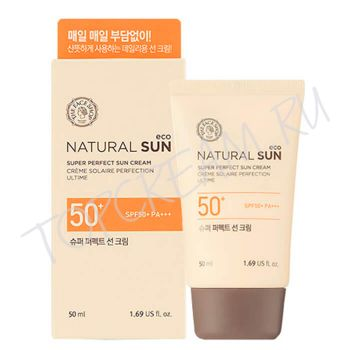 THE FACE SHOP Natural Sun Eco Super Perfect Sun Cream SPF50+ PA+++