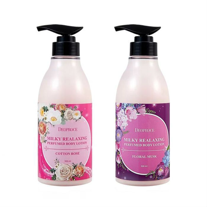 DEOPROCE Milky Relaxing Perfumed Body Lotion