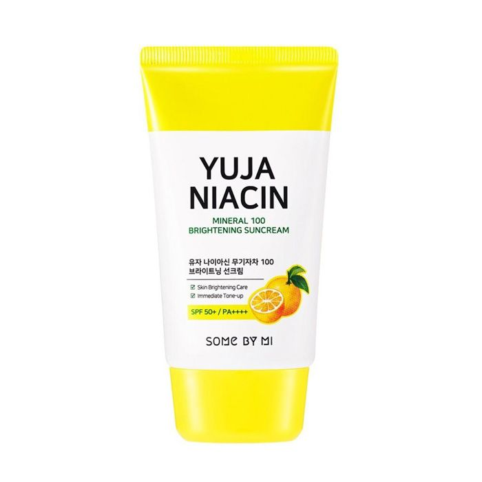 SOME BY MI Yuja Niacin Mineral 100 Brightening Suncream SPF50+ PA++++
