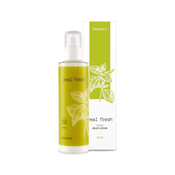 DEOPROCE Real Fresh Vegan Relief Lotion