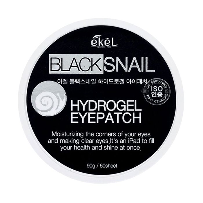 EKEL Black Snail Hydrogel Eye Patch