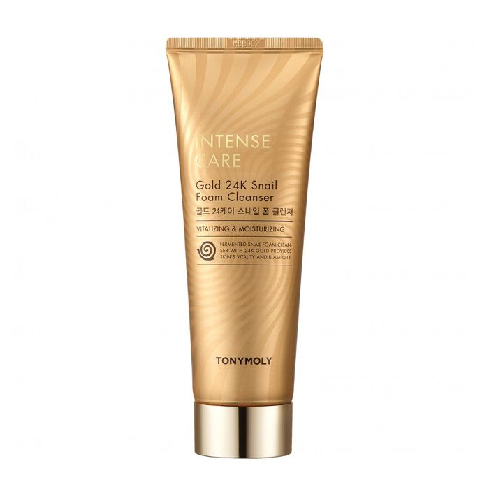 TONY MOLY Intense Care Gold 24K Snail Foam Cleanser