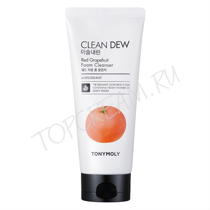 TONY MOLY Clean Dew Red Grapeаruit Foam Cleanser