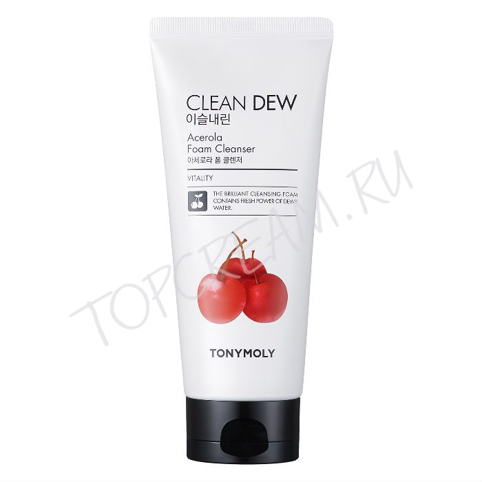 TONY MOLY Clean Dew Acerola Foam Cleanser