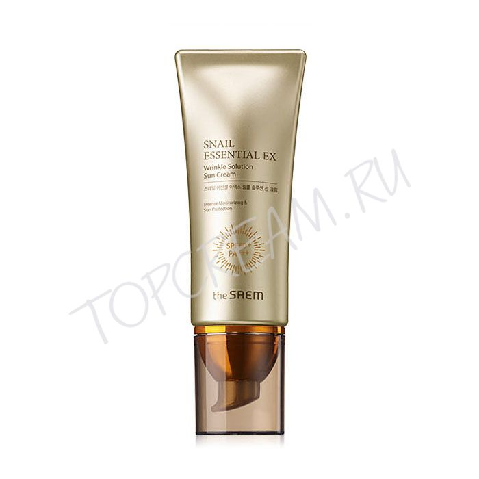 THE SAEM Snail Essential EX Wrinkle Solution Sun Cream SPF50+ PA+++