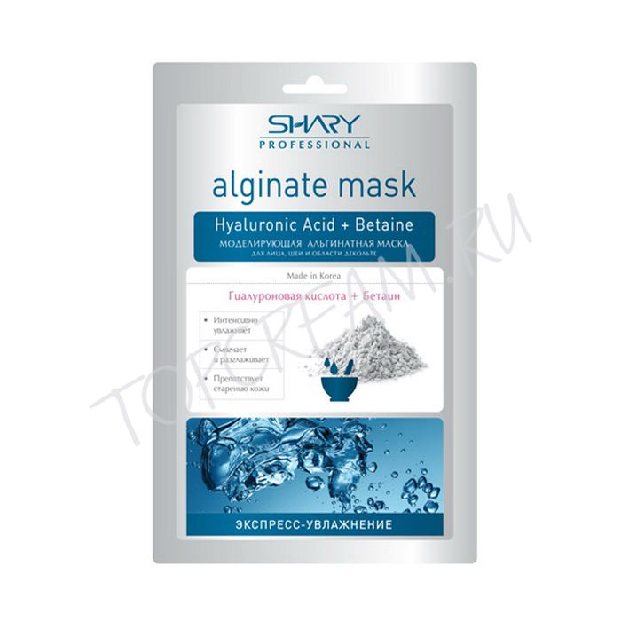SHARY Alginate Mask Hyaluronic + Betain