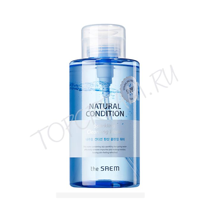 THE SAEM Natural Condition Sparkling Cleansing Water