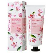 FARMSTAY Pink Flower Blooming Hand Cream
