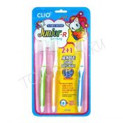 CLIO Junior R 2+1 Toothbrush