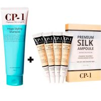 ESTHETIC HOUSE CP-1 Shampoo and Premium Silk Ampoule Set