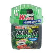 KOKUBO Odor Absorber For The Fridge Charcoal & Green Tea