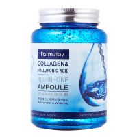 FARMSTAY Collagen & Hyaluronic Acid All-In-One Ampoule - вид 1 миниатюра