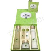 DEOPROCE Premium Green Tea Total Solution 3 Set