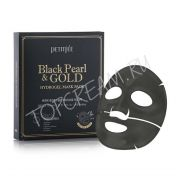 PETITFEE Black Pearl Gold Hydrogel Mask Pack