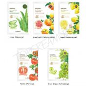 THE SAEM Natural Skin Fit Mask Sheet