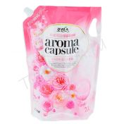 CJ LION Aroma Capsule Pink Rose Fabric Softener 2100ml