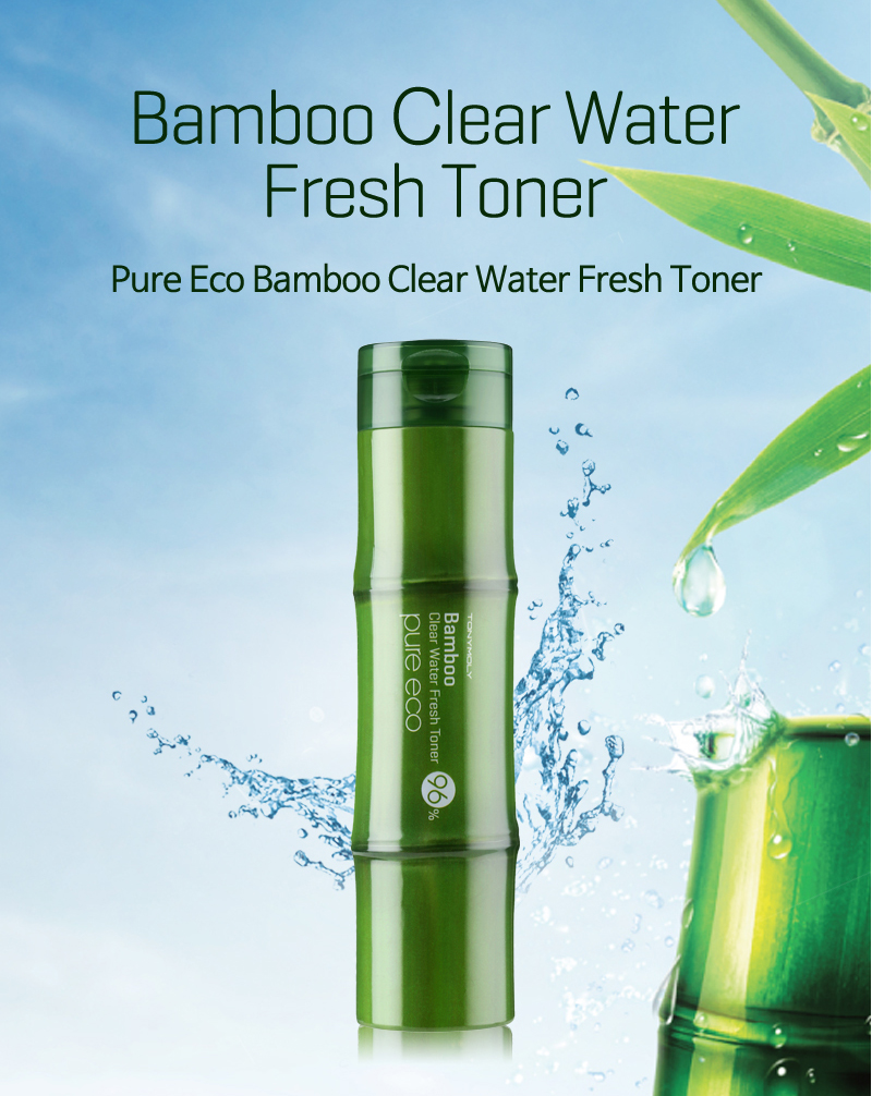 Картинки по запросу tony moly pure eco bamboo clear water fresh toner