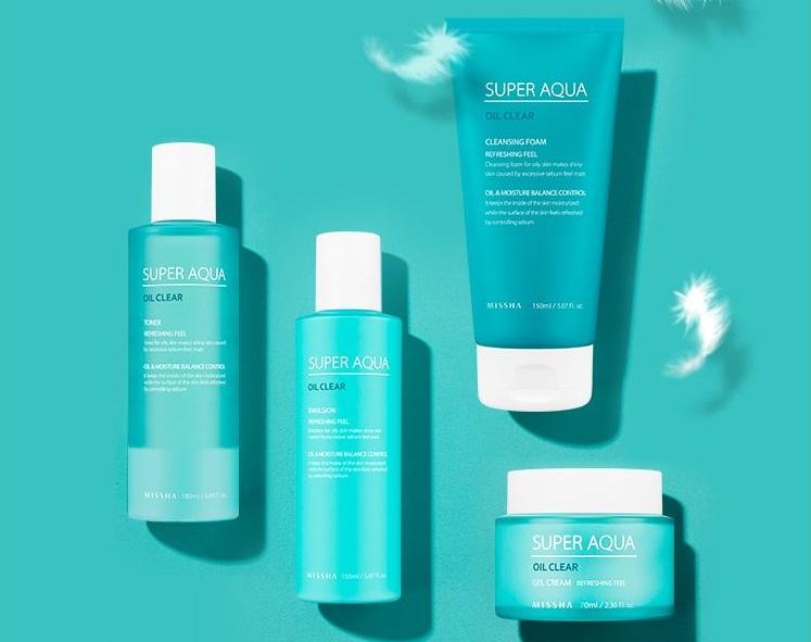 Картинки по запросу Super Aqua Oil Clear Cleansing Foam