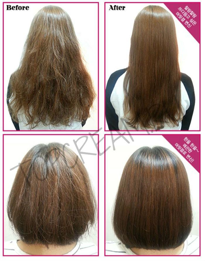 Ламинация волос масками