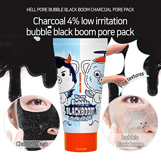ELIZAVECCA Hell-Pore Bubble Blackboom Pore Pack