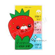 TONY MOLY Homeless Strawberry Seeds 3-step Nose Pack