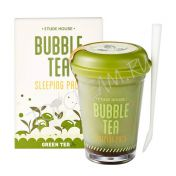 ETUDE HOUSE Bubble Tea Sleeping Pack Green Tea